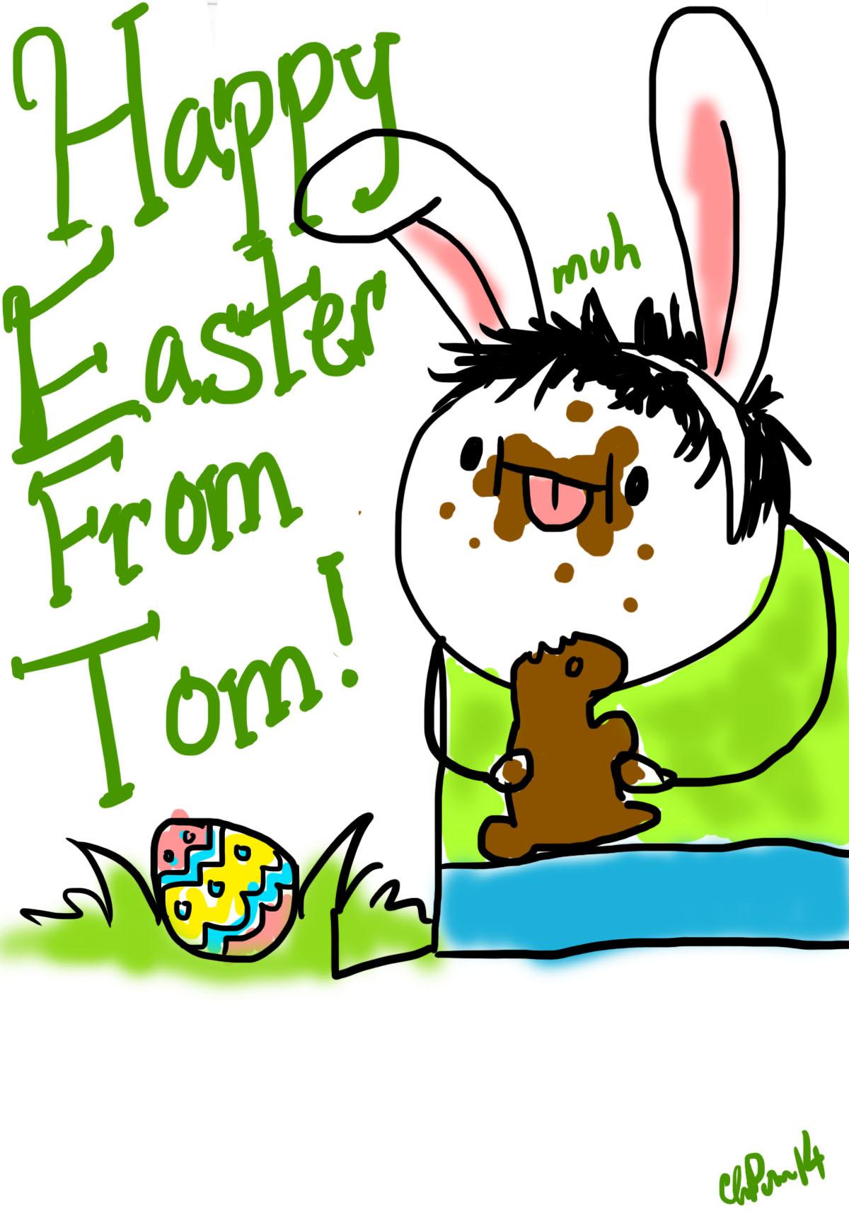 Happy Easter! Muh.